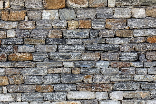 Bhutan stone wall detail wallpaper wall mural self for Wall to wall wallpaper