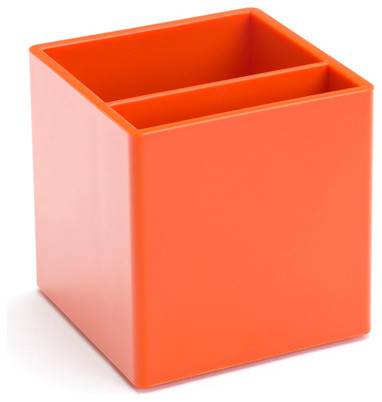 Pen Cup, Orange modern-everyday-glasses