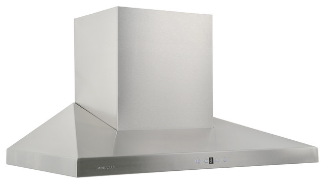 "Cavaliere 36"" Wall Mounte Hood modern-range-hoods-and-vents"