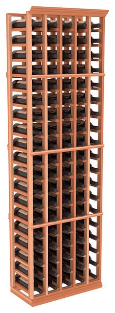 5 Column Standard Cellar Rack in Redwood traditional-wine-racks