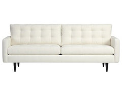 Petrie Sofa, Snow modern sofas