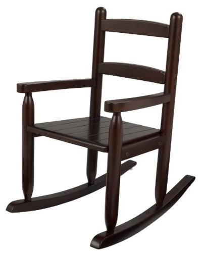 2-Slat Rocker, Espresso by Kidkraft modern-kids-chairs
