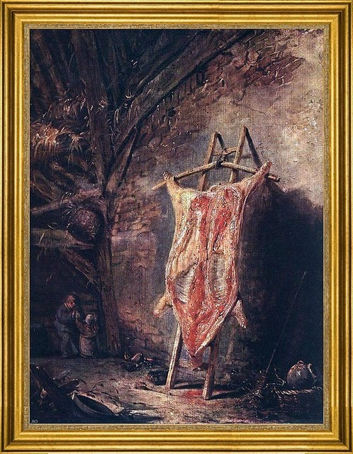 "Isaac Van Ostade-18""x24"" Framed Canvas traditional-artwork"