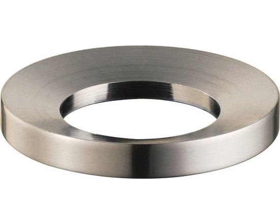Kraus - Kraus MR-1SN Mounting Ring Satin Nickel - Enhance the look and function of your Kraus vessel sink with this mounting ring