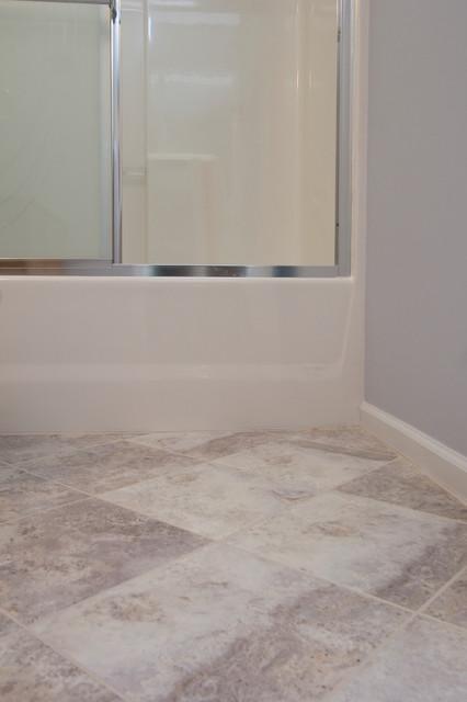 Durham Home Remodel - Guest Bathroom transitional-bathroom