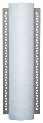 Series 183 Slim White Raindrop ADA Wall Sconce contemporary-wall-lighting