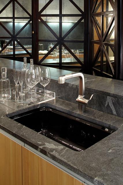 Modern High Rise Kitchen contemporary-kitchen