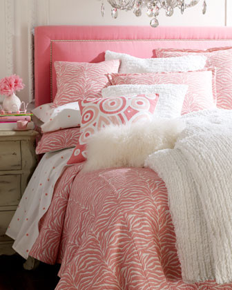 AMITY IMPORTS - Zebra Stripe Bed Linens  traditional bedding