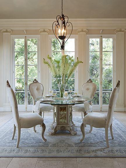 fine furniture mediterranean dining room