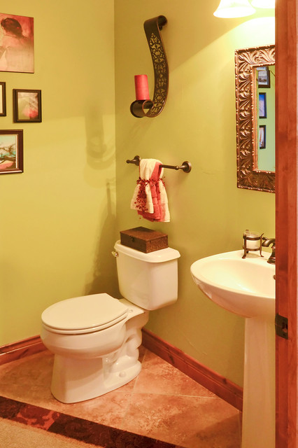 Our home in Peyton, CO eclectic-bathroom