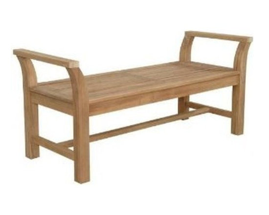 Anderson Teak - Sakura Backless Bench - Enjoy cool evening gathering with your family or friends at your own backyard. Relax and have chat on the beautiful elegant Sakura Backless Bench. Expertly crafted from solid premium teak with mortise and tendon joinery for decades to come. Perfect bench for hall way, backyard, or indoor. Quality built for generations. Cushion is optional.