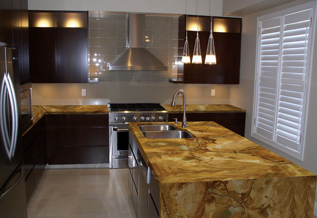 Sequoia Granite - Modern - miami - by Marble of the World | 640 x 440 jpeg 84kB