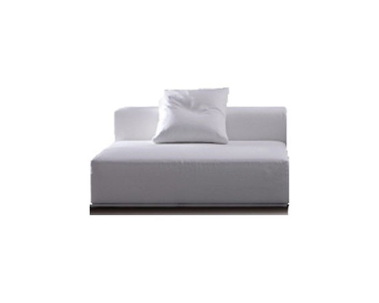 Pianca - Pianca | Insieme Central Sectional Sofa - Design by R&S Pianca. Made in Italy by Pianca. Sit yourself down on the Insieme Central Sectional Sofa. Whether paired with another sectional or on its own as a chair, the sectional offers a comfortable seat that's designed for comfort and style. With its clean lines, asymmetry, and block-like composition, the sectional provides an irregular style that's purely shape and color driven. Enhance your home with a unique look that stands apart.  Product Features: