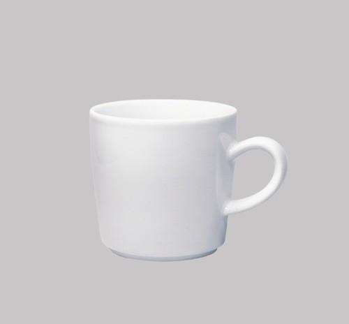 Five Senses White Coffee Cup Set Of 4 Modern Mugs