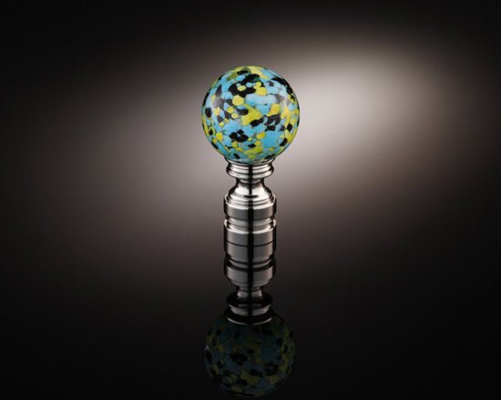 Lamp Finial Collection TLF001 - Handmade glass lamp finial