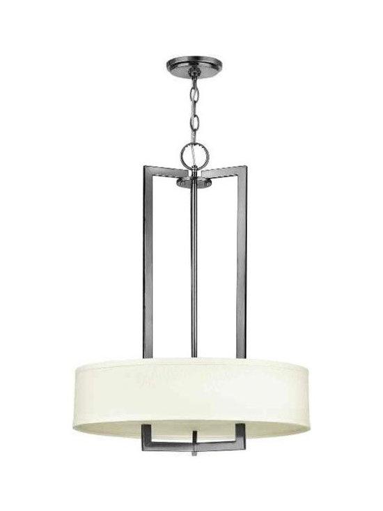 Hinkley Lighting 3204AN 3 Light Pendant Chandelier Hampton Collection -