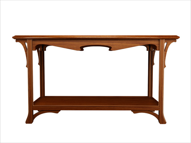 art nouveau console traditional side tables and end tables los angeles by furniture. Black Bedroom Furniture Sets. Home Design Ideas