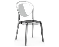 Parisienne Chair, Set of 2, Transparent contemporary-dining-chairs