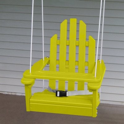 Prairie Leisure Kiddie Adirondack Chair Swing contemporary-kids-chairs