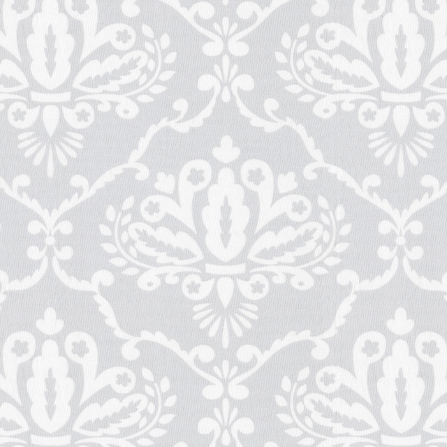 Gray Damask Fabric traditional-fabric