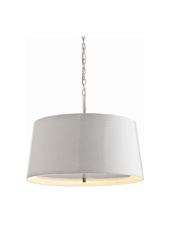 Arteriors Ziggy 3 Light Hammered Iron Pendant - Arteriors Ziggy 3 Light Hammered Iron Pendant