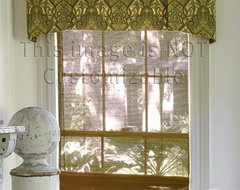 Handkerchief Fabric Valances traditional curtains