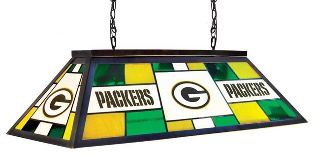 Green Bay Packers Nfl 40 Lamp Modern Game Room And