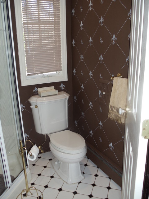 Inexpensive bathroom update by cheap chic decor for Inexpensive bathroom updates