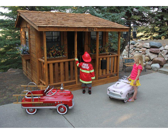 Best Picture of the Year 2012 - Kids of all ages will love our Cozy Cabin Playhouse!