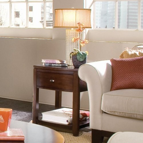 For an end table that looks as good as sarsaparilla tastes, go with the Amer contemporary-side-tables-and-end-tables