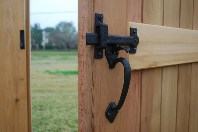 Double Sided Gate Double Thumb Latch : farmhouse from houzz.com size 640 x 428 jpeg 56kB
