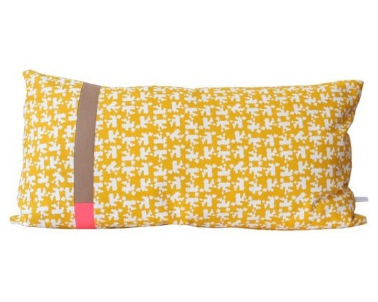 Large Dutch Cushion - Mustard -