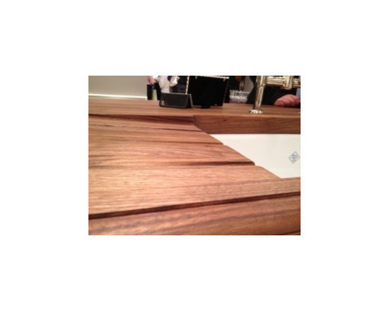 Drain Boards in Wood Countertops -