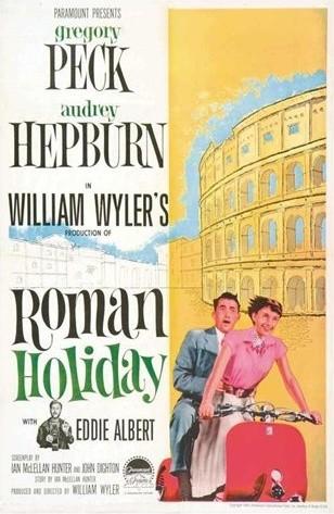 Roman Holiday Movie Poster modern-artwork
