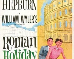 Roman Holiday Movie Poster modern artwork