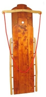 Mountain Boy Sledworks Personalized Ultimate Flyer Sled with Pad modern-kids-lighting