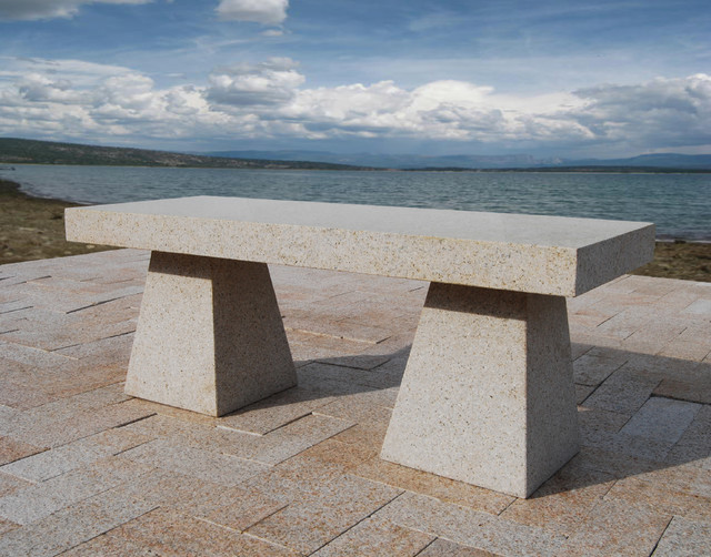 A New Direction on the Modern Bench contemporary-outdoor-stools-and-benches