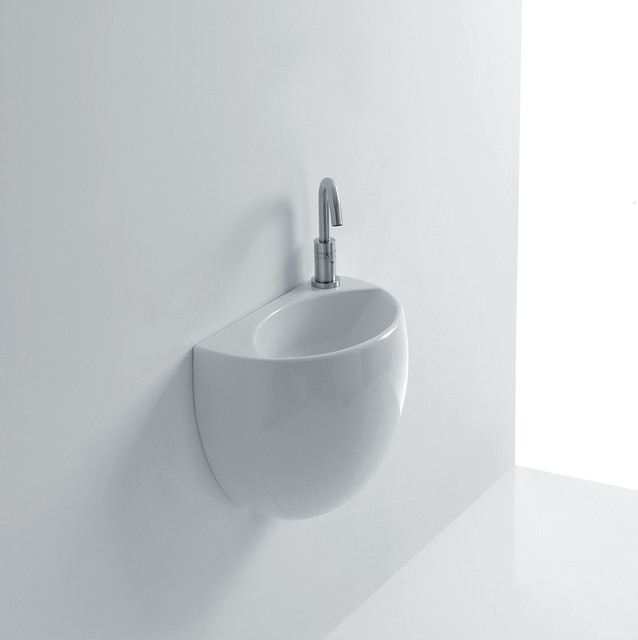 High end small 16 0 ceramic wall mounted sink for High end bathroom sink