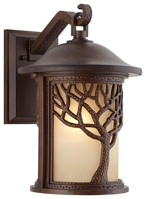 Arts And Crafts Mission Bronze Mission Style Tree 15 High Outdoor Wal