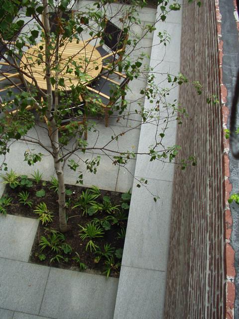 Walled Garden, Beacon Hill, Boston traditional-patio