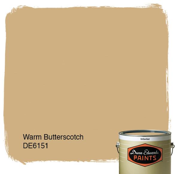 Dunn-Edwards Paints Warm Butterscotch DE6151