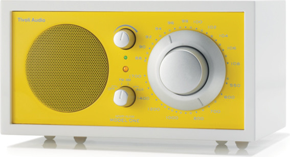 Frost White Collection Model One® Radio modern-home-electronics
