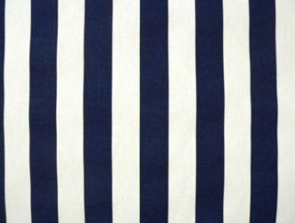 Navy Blue and White Stripe Table Runner by Exclusive Elements traditional-tablecloths