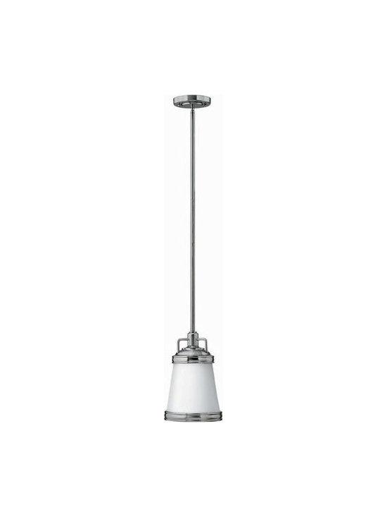 Hinkley Lighting 3101BN 1 Light Pendant Mid-Pendant Collection -