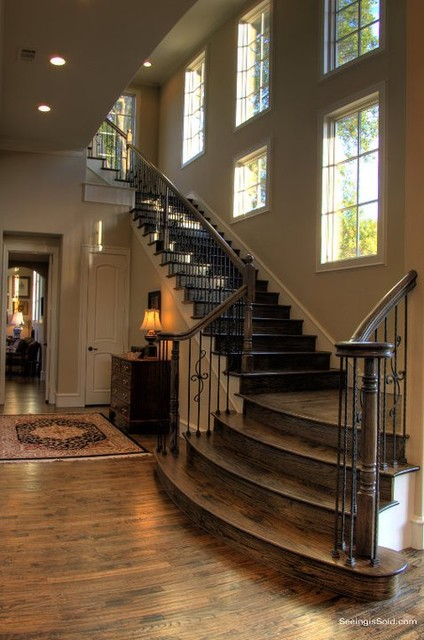 staircase ideas traditional staircase dallas by veranda fine homes. Black Bedroom Furniture Sets. Home Design Ideas