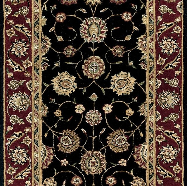 Nourison 2000 30 Inch Runner Traditional Stair Runner traditional-rugs