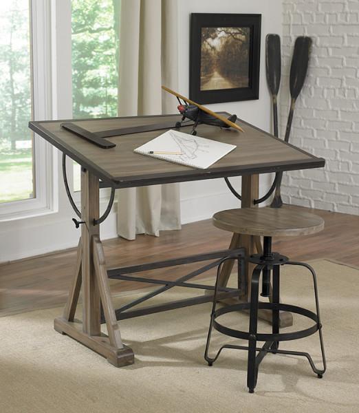 Magnussen Furniture New Generation Bailey Desk Drawing
