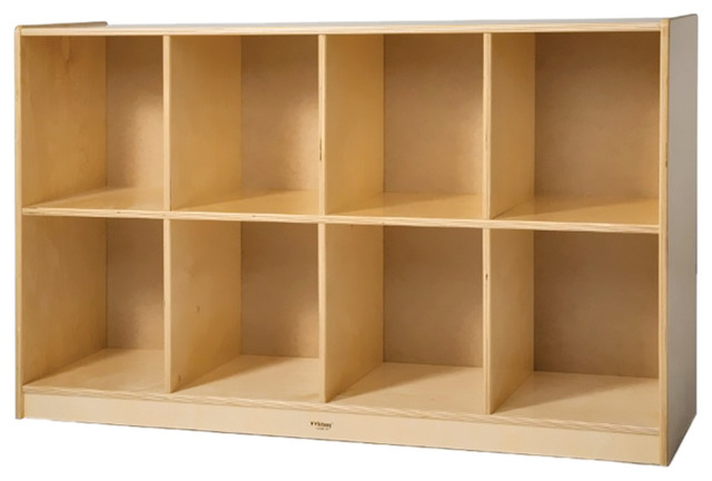 8-Cubby Backpack Storage Cabinet - Contemporary - Bookcases - by clickhere2shop