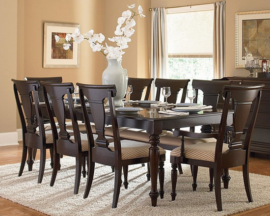 """Homelegance """"Inglewood"""" Collection Deep Cherry 5-Piece Dining Set -"""