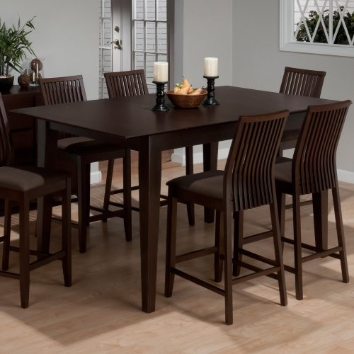 Ryder Ash Counter Height Rectangular Dining Table Modern Dining Tables